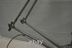 1986 Raleigh Technium Vintage Touring Road Bike Frame 64cm XX-Large USA Charity