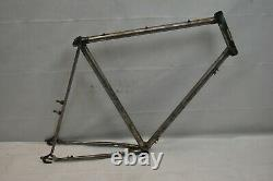 1987 Ross Vintage Touring Road Bike Frame Set 63cm X-Large Fixie Steel Charity