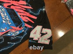 1995 Vintage Rare NASCAR Kyle Petty Coors Racing Tee Shirt NWT Lrg Silver Bullet