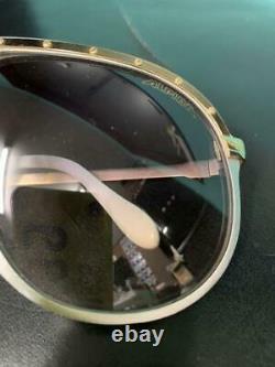 ALPINA M1 Gold Silver Vintage Large Aviator sunglasses W. Germany