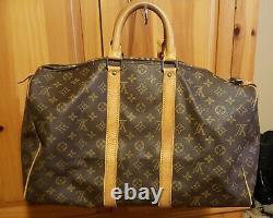 Authentic Louis Vuitton Vintage LV Monogram Keepall 45 Tote Bag Duffle Luggage