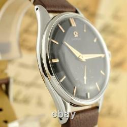 Authentic Omega Ref 2505 Large Model 38mm Manual Wind Vintage 1954' Gents Watch