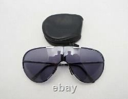 CARRERA PORSCHE DESIGN 5629 silver purple folding sunglasses aviator frames 5622