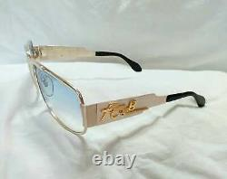 Elvis Vintage 1972 Neostyle Nautic Pure Silver Sterling Sunglasses Tcb