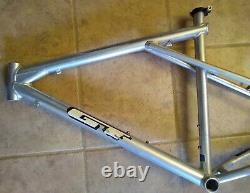 GT Avalanche Mountain Bike Frame 18 M 20.5 Large Silver Vintage MTB Zaskar L USA