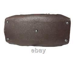 Gucci Handbag Duffle Vintage Sherry Line Monogram GG Travel Supreme Leather Tote