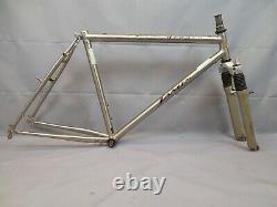 Jamis Dragon Vintage MTB Bike Frame 19.5 Large 90s Hardtail Tange Steel Charity