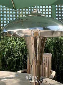 Large Vintage Modern Bauhaus Style Table Lamp
