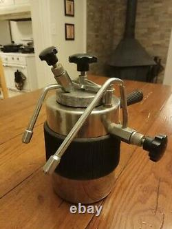 Large Vtg Italy Milano TCL Cappuccino Mokka Frother Pot