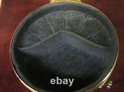 Large vintage Birks Sterling Silver footed ring casket/Box