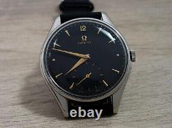 Omega Large Vintage Men's Watch Manual Sub Seconds