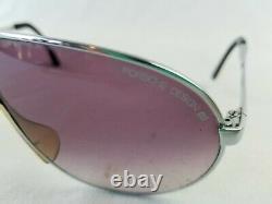 PORSCHE DESIGN CARRERA silver brown/purple 5622 sunglasses aviator pilot folding