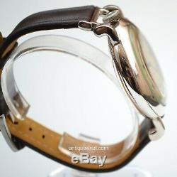 Patek Philippe for Tiffany Geneva Calatrava classic mens vintage large watch