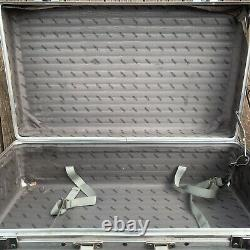 RIMOWA Vintage Aluminum Briefcase Large 27.5 Made in Germany Art Transport