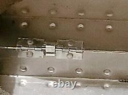 Rare Vintage OAKLEY Large X Metal Vault with Original Foam Inserts Romeo Juliet