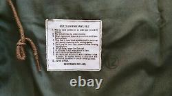 THE REAL MCCOY'S M-65 JACKET, RARE VINTAGE CONMAR ZIPPER (Vietnam silver era)