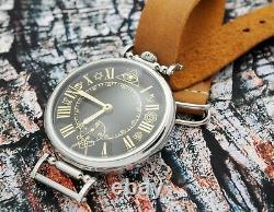 VINTAGE RARE LARGE MOLNIYA Russian wristwatch MASONIC Mason USSR Skeleton