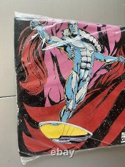 Vintage 1995 Marvel Comics Silver Surfer Comic Book Promo Shirt L Sealed RARE