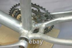Vintage 80's Hardtail MTB Bike Frame Set 20.5 X-Large Rigid Canti USA Charity