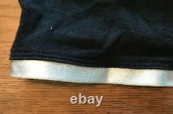 Vintage 90s Gianni Versace Versus Parfum Shirt Black Orange Silver Metallic