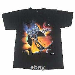 Vintage 90s Marvel Comics Characters Silver Surfer T Shirt Size Large 1998
