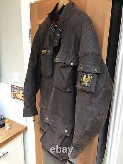 Vintage Belstaff Motorcycle Jacket Size L Rare