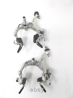 Vintage Campagnolo Large Drillium Record Brake Set for Your Steel Ride A