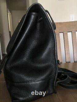 Vintage Coach Large Daypack Black