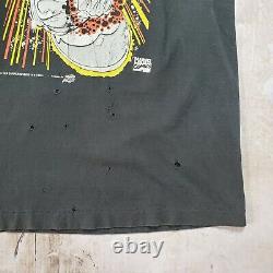 Vintage Marvel Comic Images Silver Surfer SOLO Shirt (size Large) thrashed