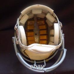 Vintage Oakland Raiders, Howie Long Adult Riddell Vsr-1, Custom Used Helmet