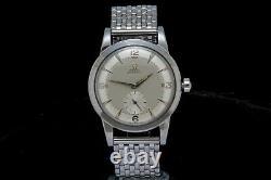Vintage Omega 2943 Jumbo Bumper Men's Wrist Watch Large 1954