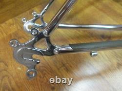 Vintage Schwinn Chrome U Brake 26 Mtb Frame Large