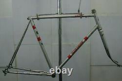 Vista Silver Shadow Vintage Bike Frame Japanese Lugged Dura Ace 1977 Charity