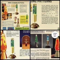 Vtg 1960's Lava Simplex Kaleidolite Motion Lamp