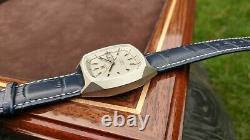 Zenith XL Tronic Vintage Watch Excellent Condition Large 40mm Case Stainless