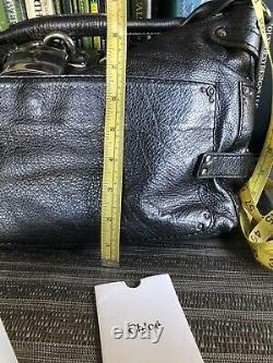 $1250 Chloe Rare Vintage Silver Pebbled Leather Paddington Hobo/sac Satchel