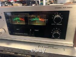 1970 Vintage Kenwood Kf-8011 Audio De-noiser Grands Vu-mètres Grand Travail