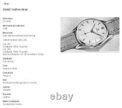 38mm Grand Omega D'origine En Acier À Vent Manuel Vintage 1952' Gents Watch Ref 2505