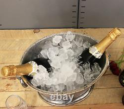 Alfred Gratien Grand Seau De Champagne Vintage Oval Cooler Argent Glace Traditionnel