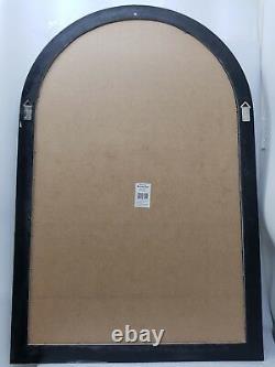 Arche Fenêtre Miroir Argent Antique Style Shabby Chic Grand 80x120cm Mur Hung