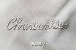 Beautiful Vintage Christian Dior Silver Fox Fur Coat Jacket Taille Femme Grande