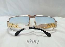 Elvis Vintage 1972 Neostyle Nautic Pure Silver Sterling Lunettes De Soleil Tcb