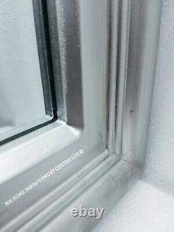 Grande Fenêtre Miroir Antique Silver Style Rectangulaire Shabby Chic