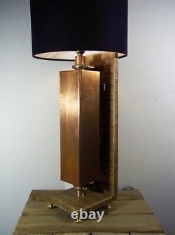 Grande Lampe De Bureau/lampe De Bureau Unique Vintage Copper Industrial/steampunk/rustic Table/desk