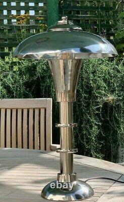 Grande Lampe De Table Moderne Vintage De Style Bauhaus