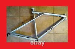 Gt Avalanche Mountain Bike Frame 18 M 20.5 Grand Argent Vintage Mtb Zaskar L USA