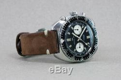 Les Grandes Années 1960 Jaquet Droz (suisse) Vintage Chronograph Montre Landeron Cal. 149