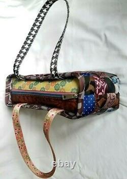 Limited Harvey Édition 2009 Patchwork Le Sac Original Seatbelt Bourse Vintage