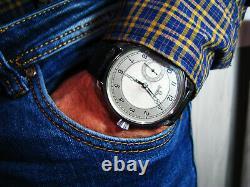 Luxe Hommes Art Déco Cadeau Antique 1900 Montre-bracelet Chronometer Grand Acier