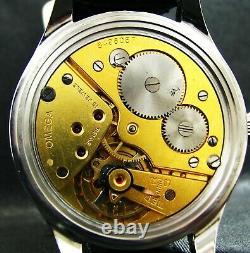 Luxe Hommes Art Déco Cadeau Antique 1937 Montre-bracelet Chronometer Grand Acier